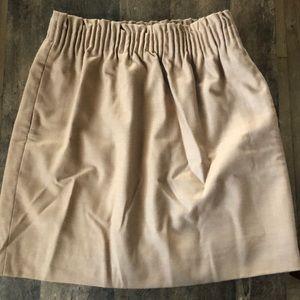 JCrew Wool Sidewalk Skirt